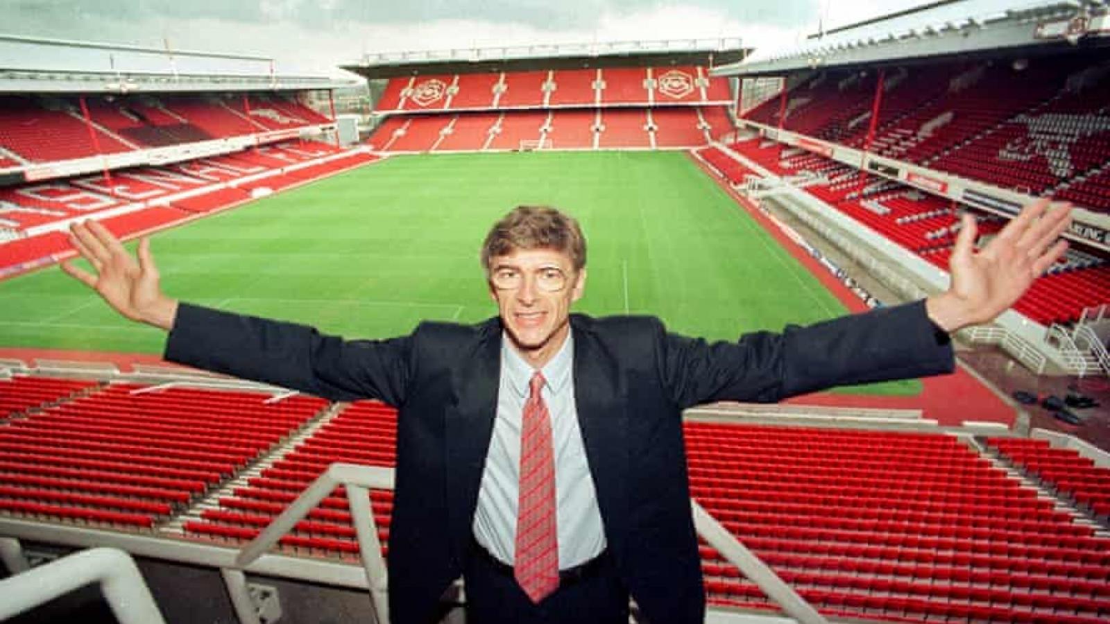 Ngày này năm xưa: HLV Wenger chính thức dẫn dắt Arsenal