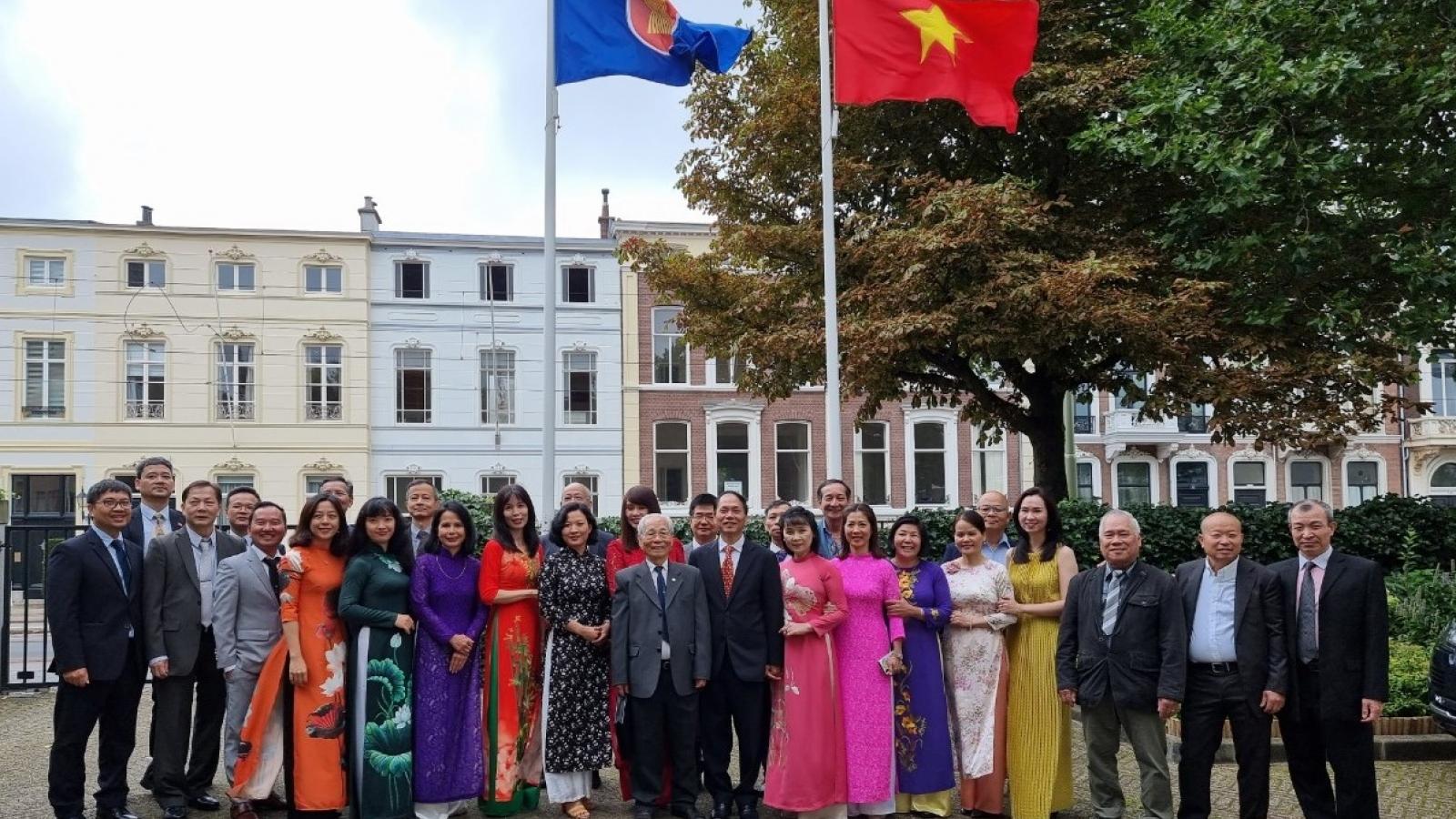 Đại sứ quán Việt Nam tại Hà Lan tổ chức kỷ niệm 76 năm Quốc khánh 2/9