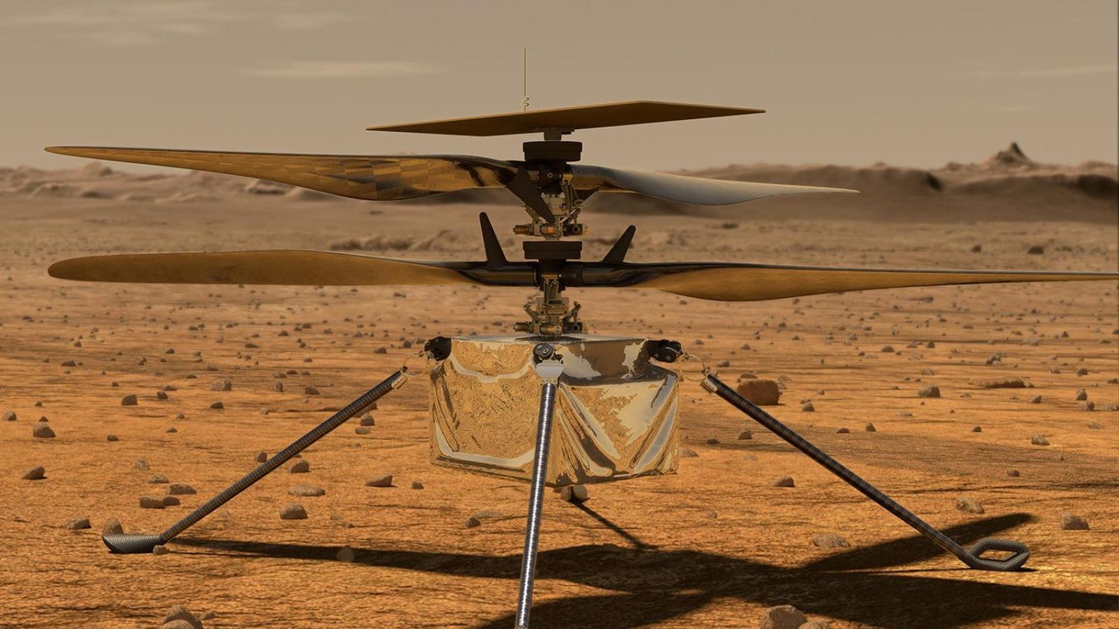Trung Quốc muốn chế tạo drone siêu thanh bay trên sao Hỏa