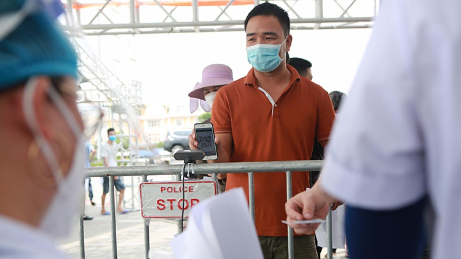 Người từ 12 xã/phường của TP. Phủ Lý về Hà Nội tự cách ly tại nhà 14 ngày