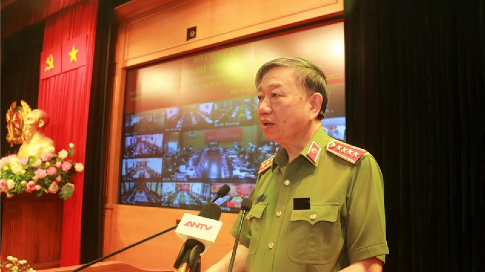 Lực lượng Công an triệt phá 1.225 băng, nhóm tội phạm