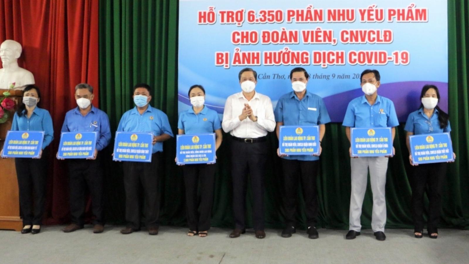 Liên đoàn Lao động TP Cần Thơ tiếp tục triển khai gói hỗ trợ cho người lao động