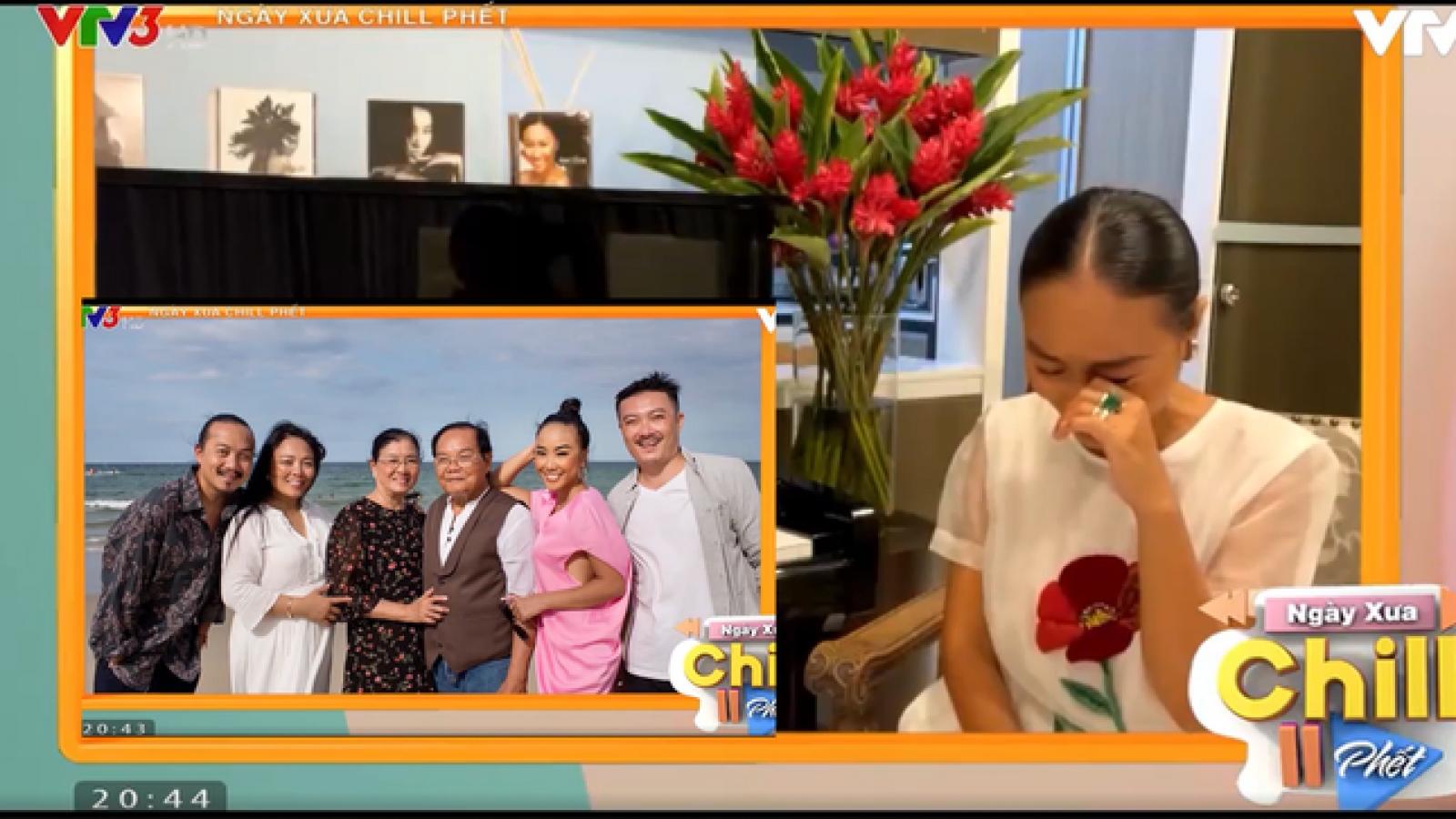 Chuyện showbiz: Đoan Trang bật khóc nhớ nhà sau hơn 2 năm xa cách vì Covid-19