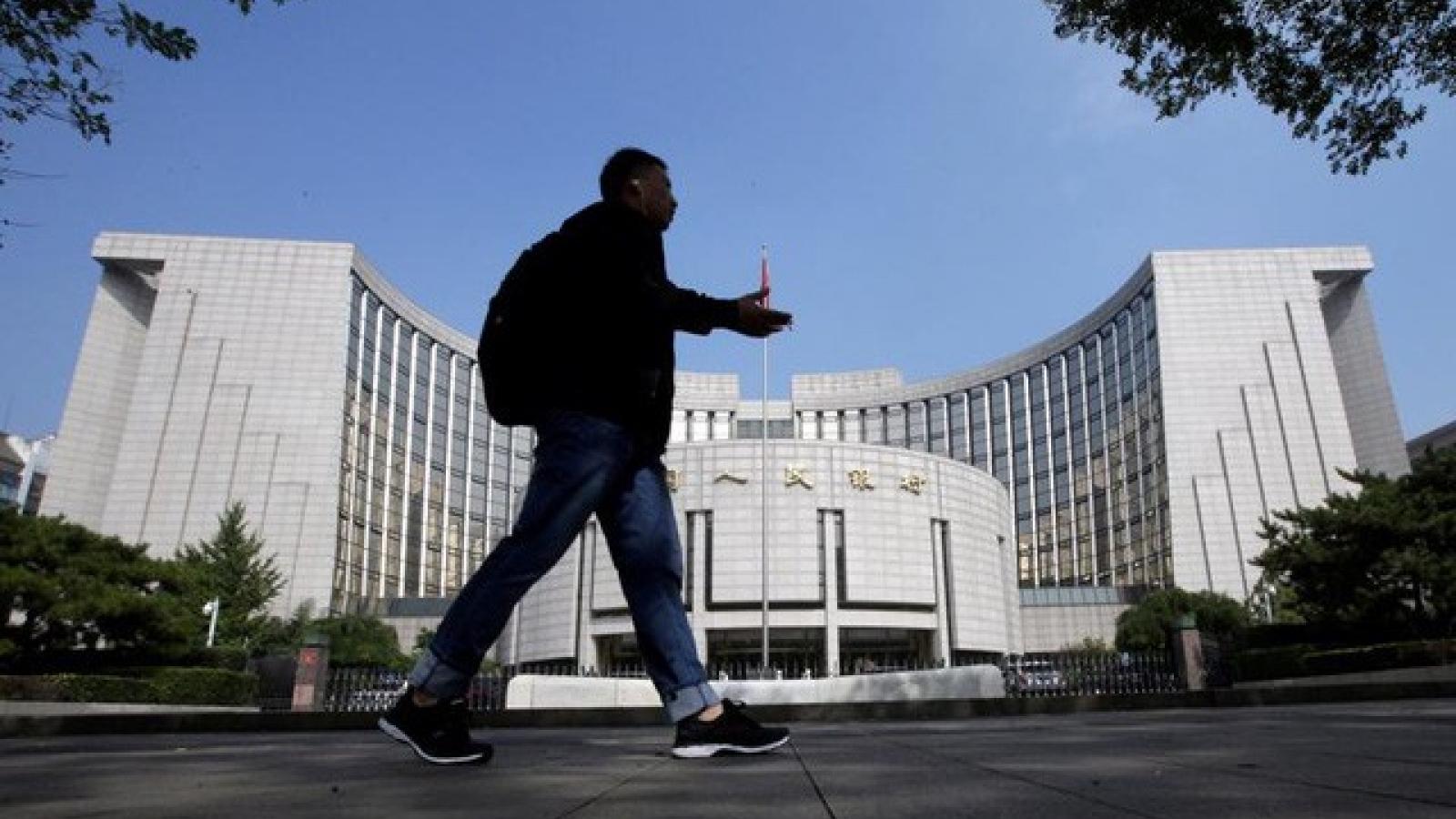 Trung Quốc bơm hơn 14 tỷ USD vào hệ thống tài chính