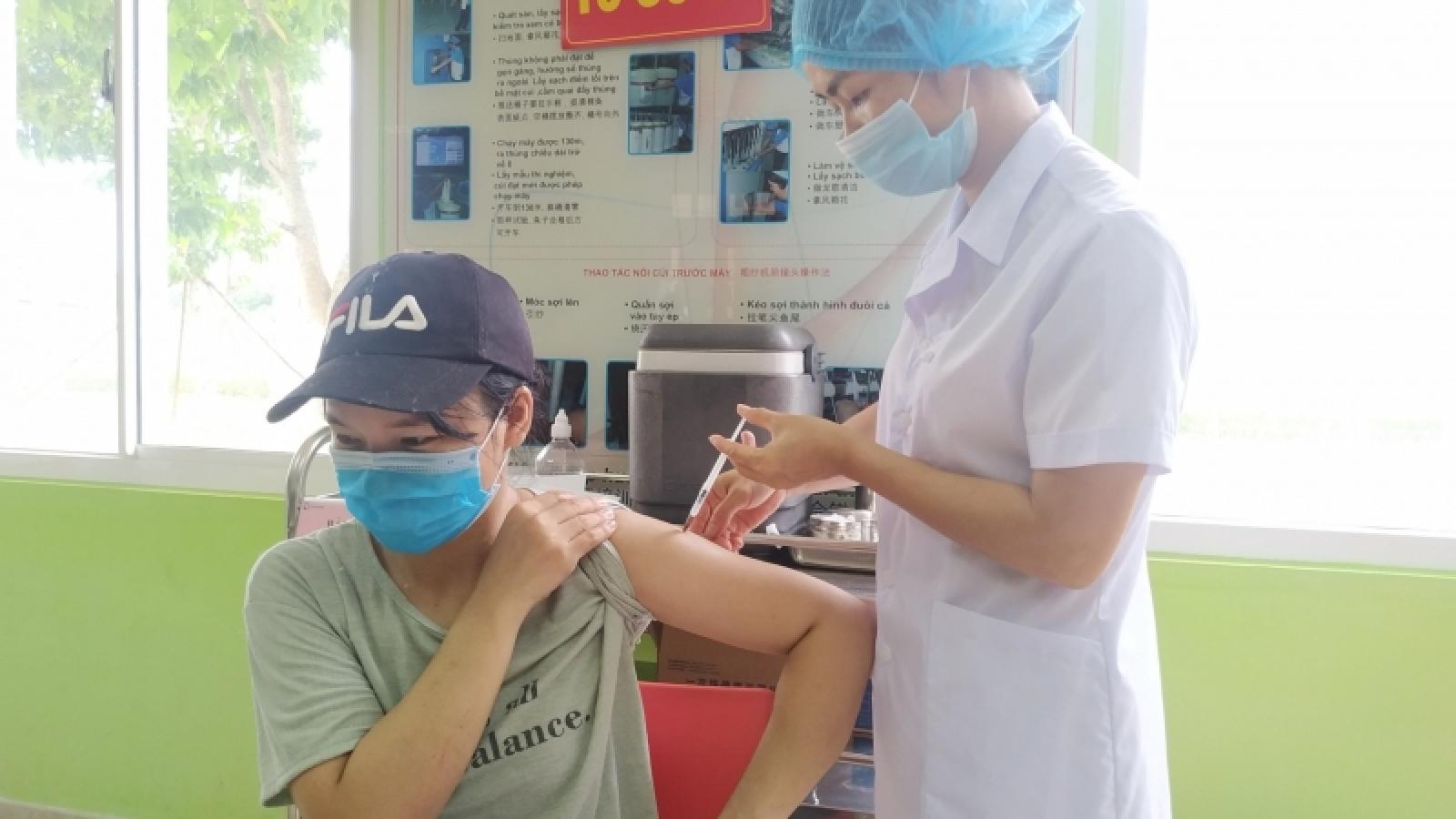 Quảng Ninh phấn đấu hoàn thành tiêm mũi 2 vaccine Covid-19 cho người dân trong tháng 10