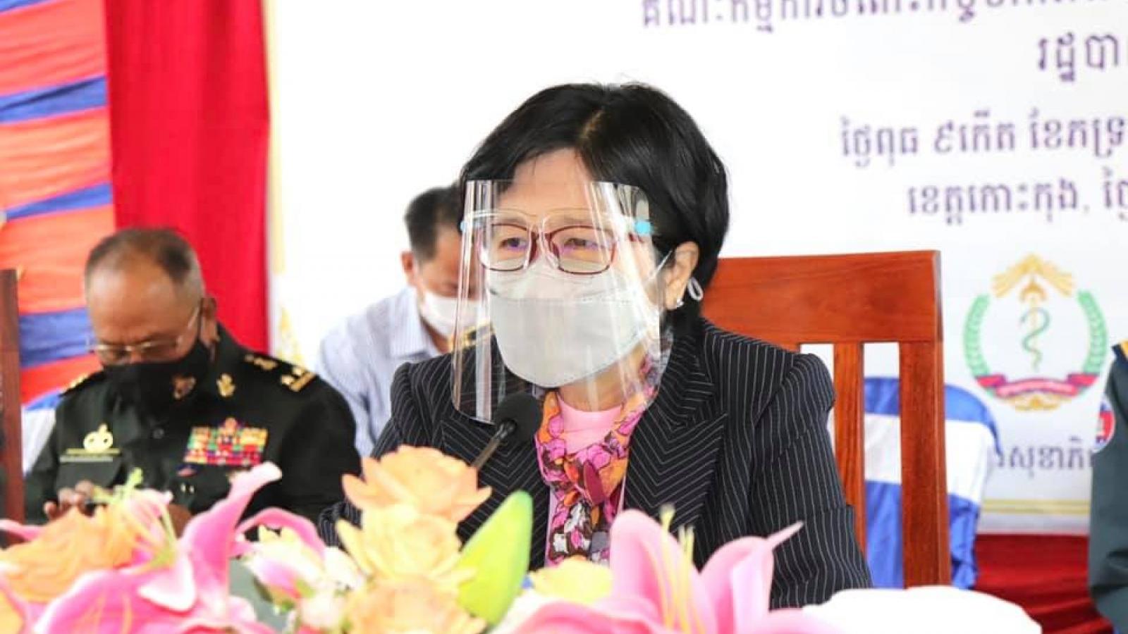 Campuchia sẽ đưa vaccine COVID-19 đến từng gia đình