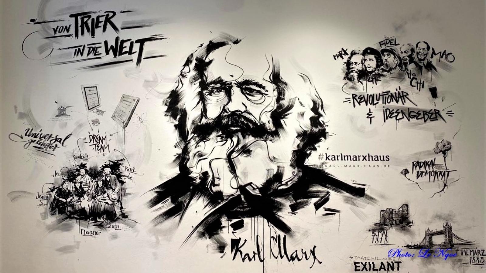 Di sản bất tử của vĩ nhân Karl Marx