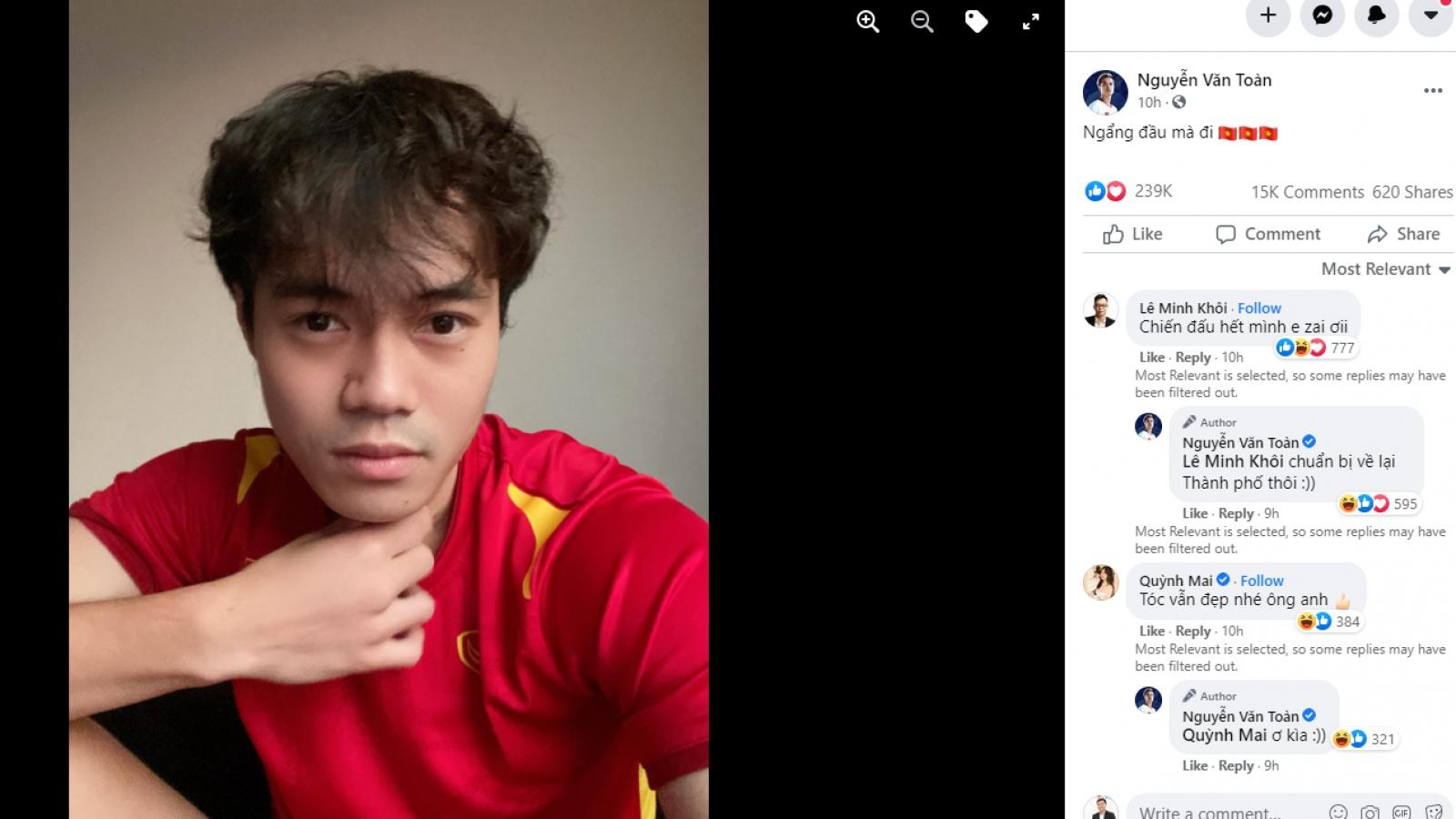 Dàn tuyển thủ Việt Nam tự an ủi sau trận thua đáng tiếc trước Australia