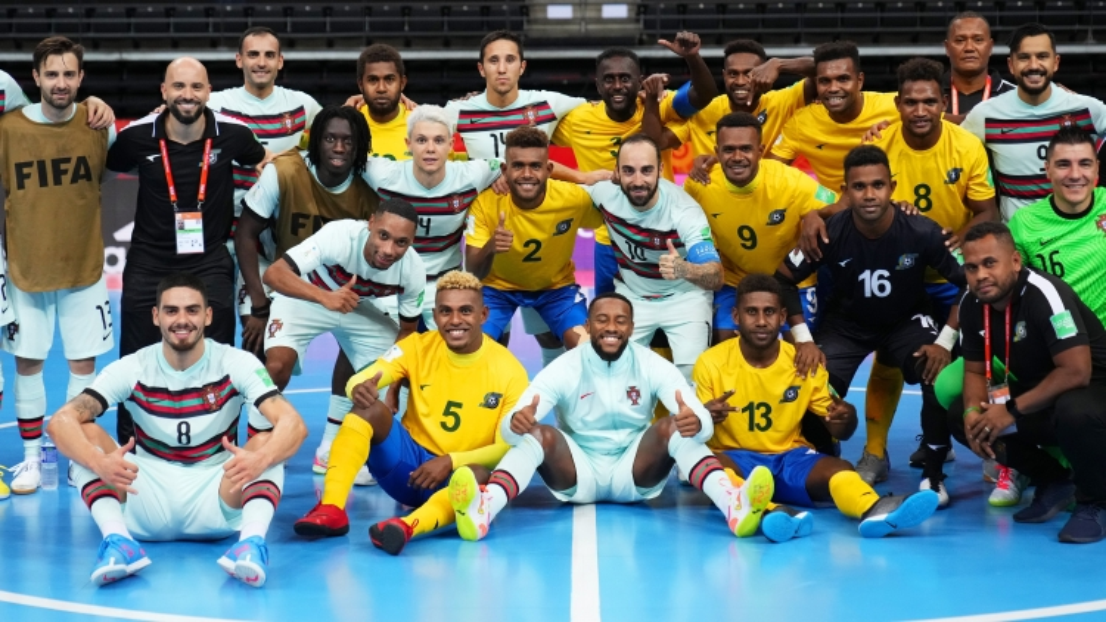 Xác định 4 đội giành vé sớm vào vòng 1/8 FIFA Futsal World Cup 2021