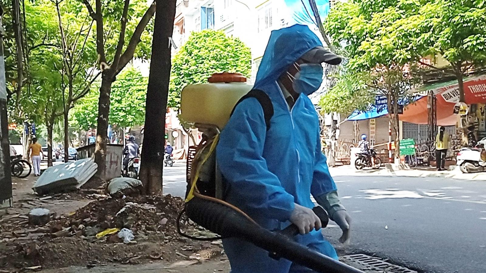 Tìm người liên quan đến F0 ở phường Nguyễn Trãi, Hà Đông