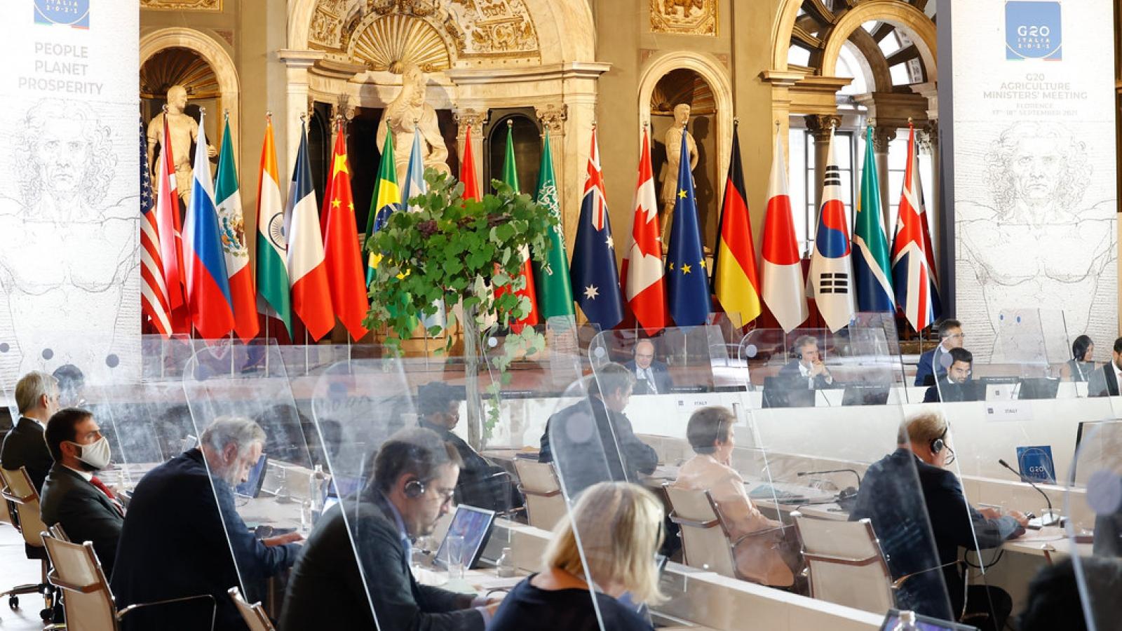 G20 ra tuyên bố chung khẳng định cam kết đảm bảo an ninh lương thực