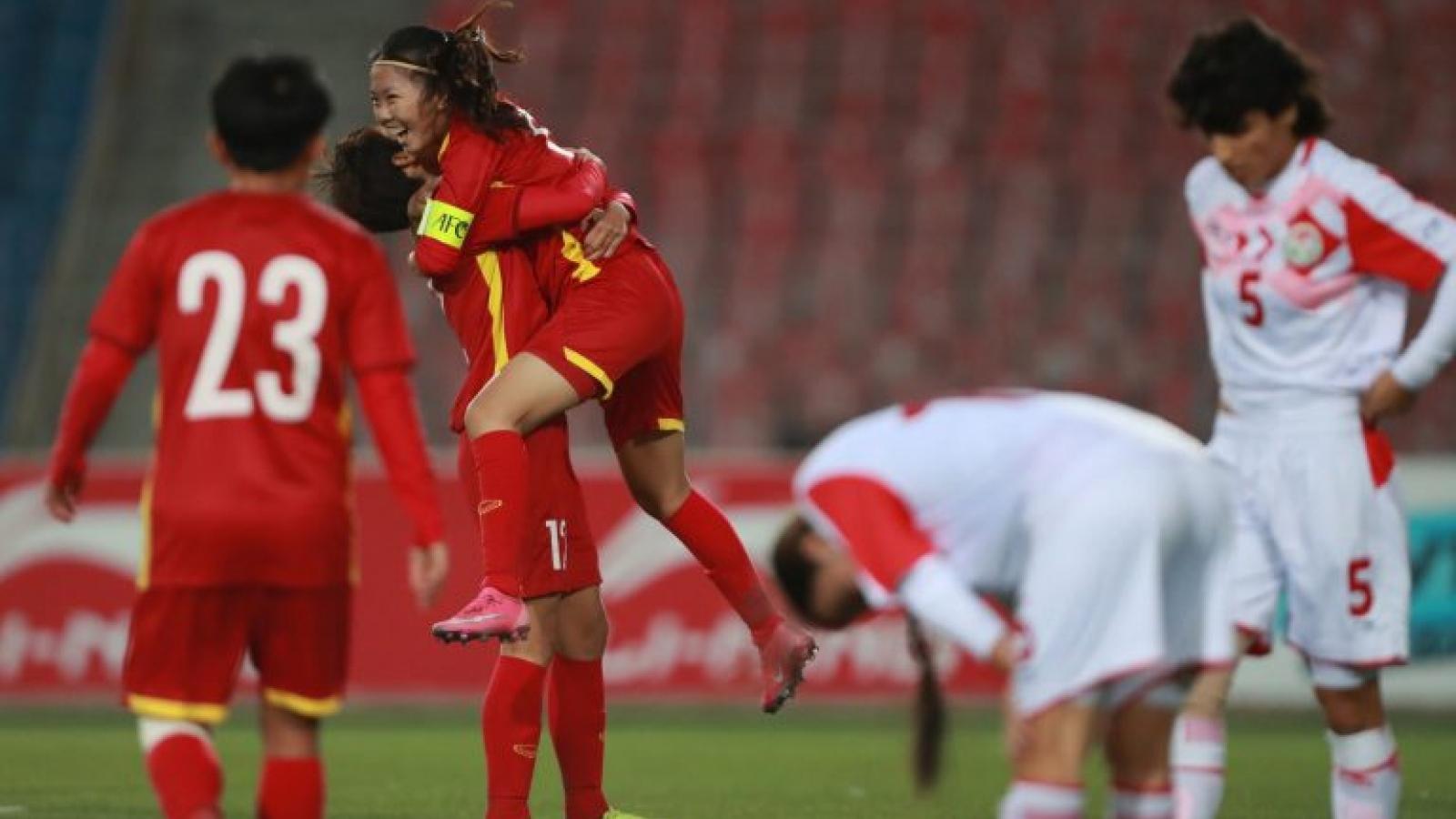 Giành vé vào VCK Asian Cup nữ 2022, ĐT nữ Việt Nam được thưởng 800 triệu đồng
