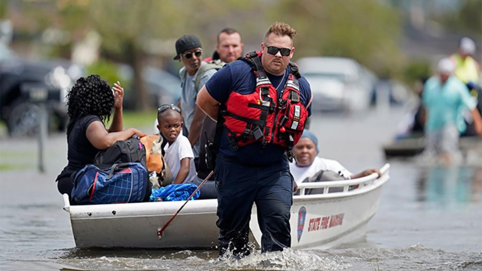 21 người thiệt mạng tại Mỹ do ảnh hưởng của bão Ida