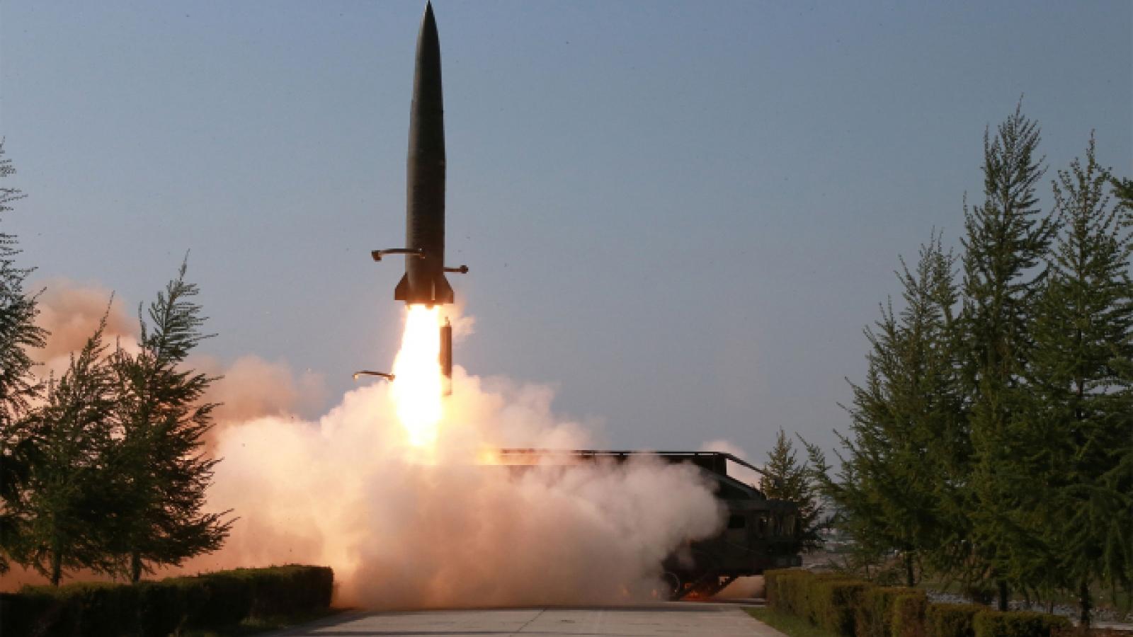 Mỹ: Vụ phóng tên lửa mới nhất của Triều Tiên không gây đe dọa tức thời