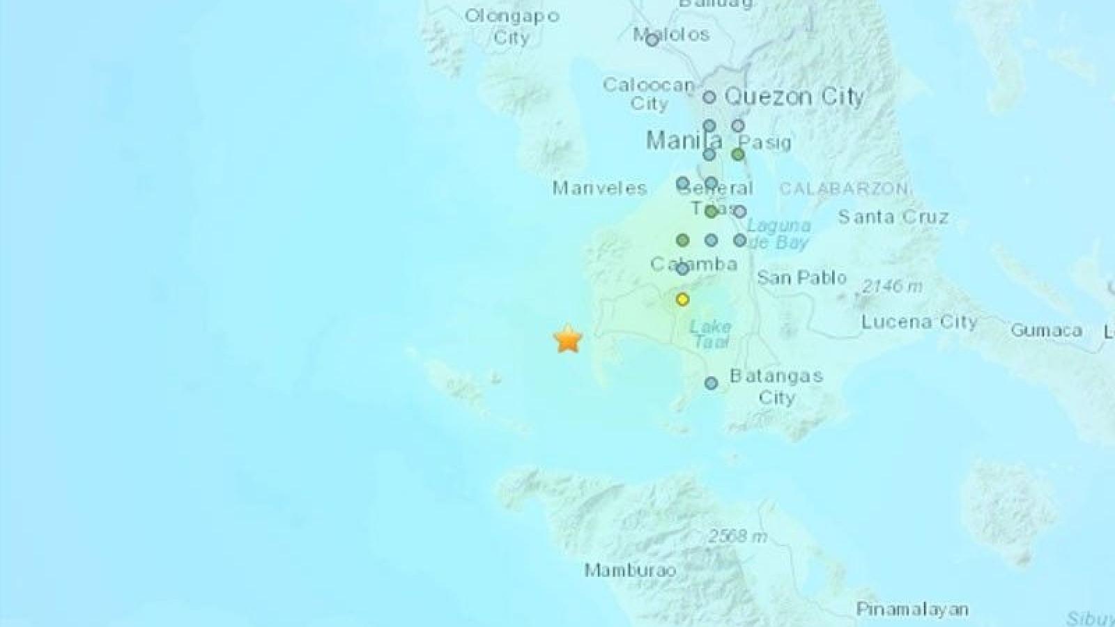 Ít nhất 23 dư chấn xảy ra sau trận động đất 5,7 độ Richter tại Philippines