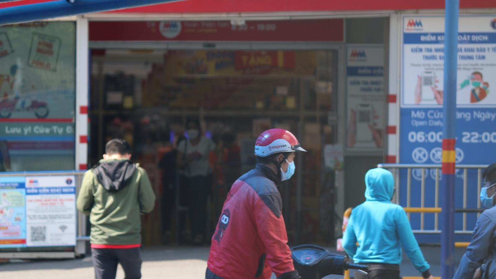 Sở Công Thương TP.HCM kiến nghị tăng thời gian hoạt động của siêu thị và shipper đến 21h