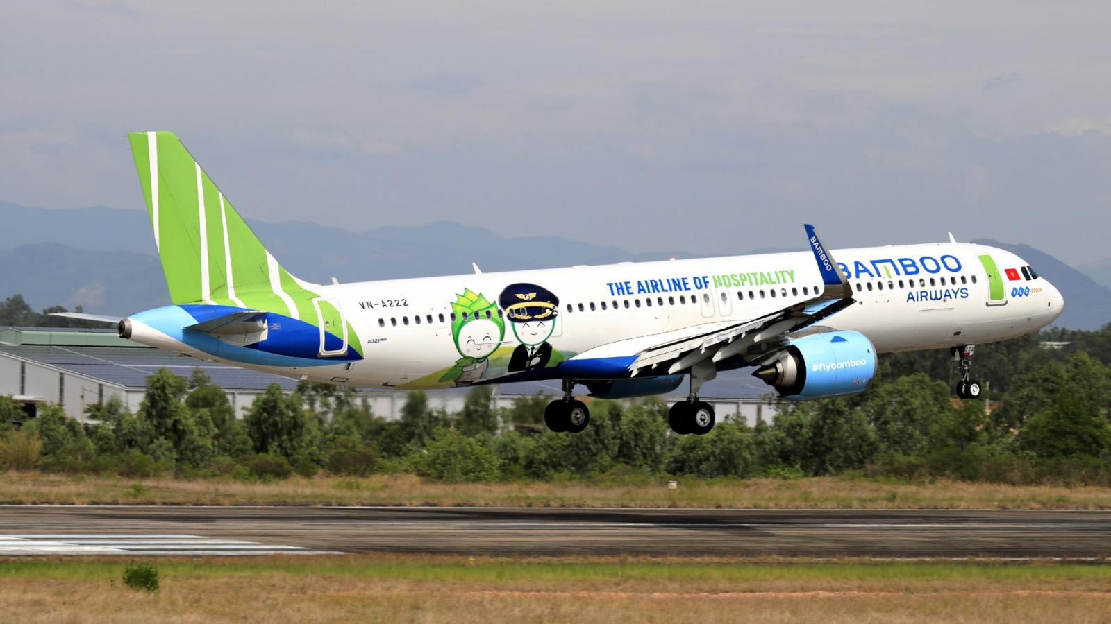 Bamboo Airways phục vụ công tác tiếp viện và đưa người hồi hương