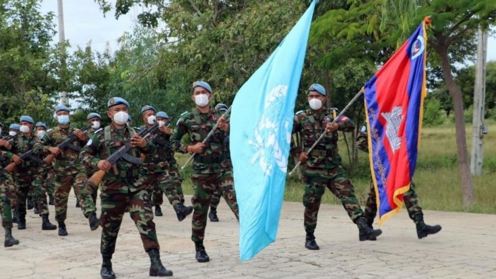 Campuchia sẽ cử 300 binh sỹ tham gia nhiệm vụ gìn giữ hòa bình tại Mali
