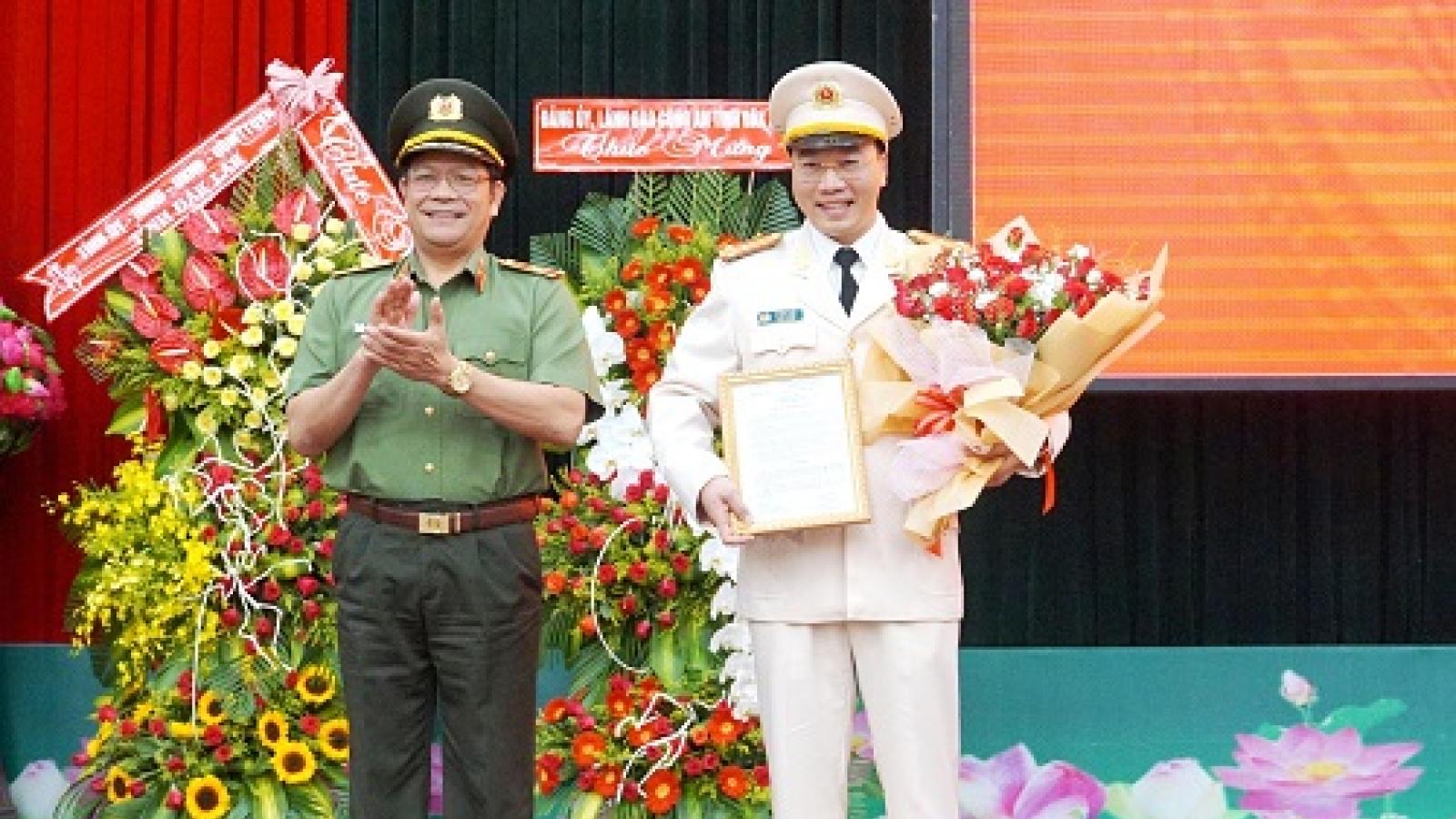 Công an các tỉnh Quảng Bình, Đắk Lắk có tân phó giám đốc