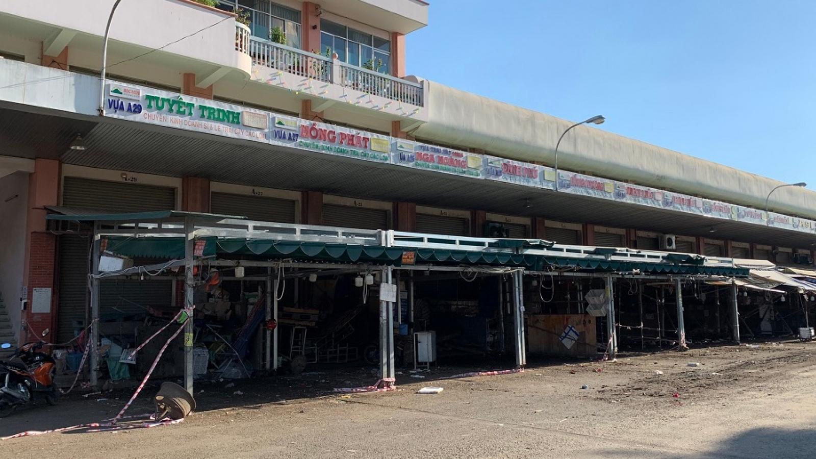 Chợ đầu mối Hóc Môn kết nối đưa hàng đến chợ truyền thống
