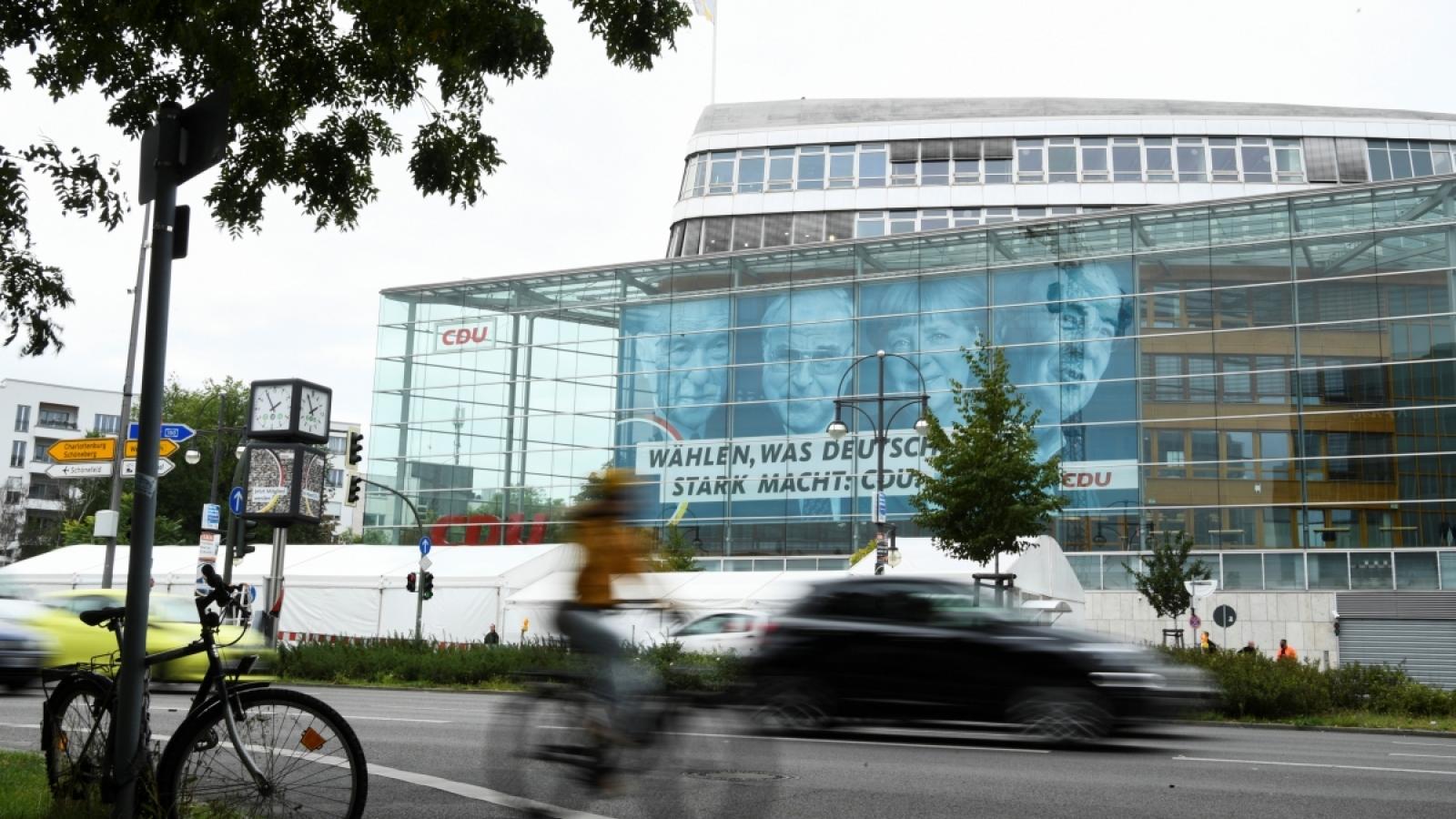 Nước Đức bước vào cuộc tổng tuyển cử liên bang lịch sử