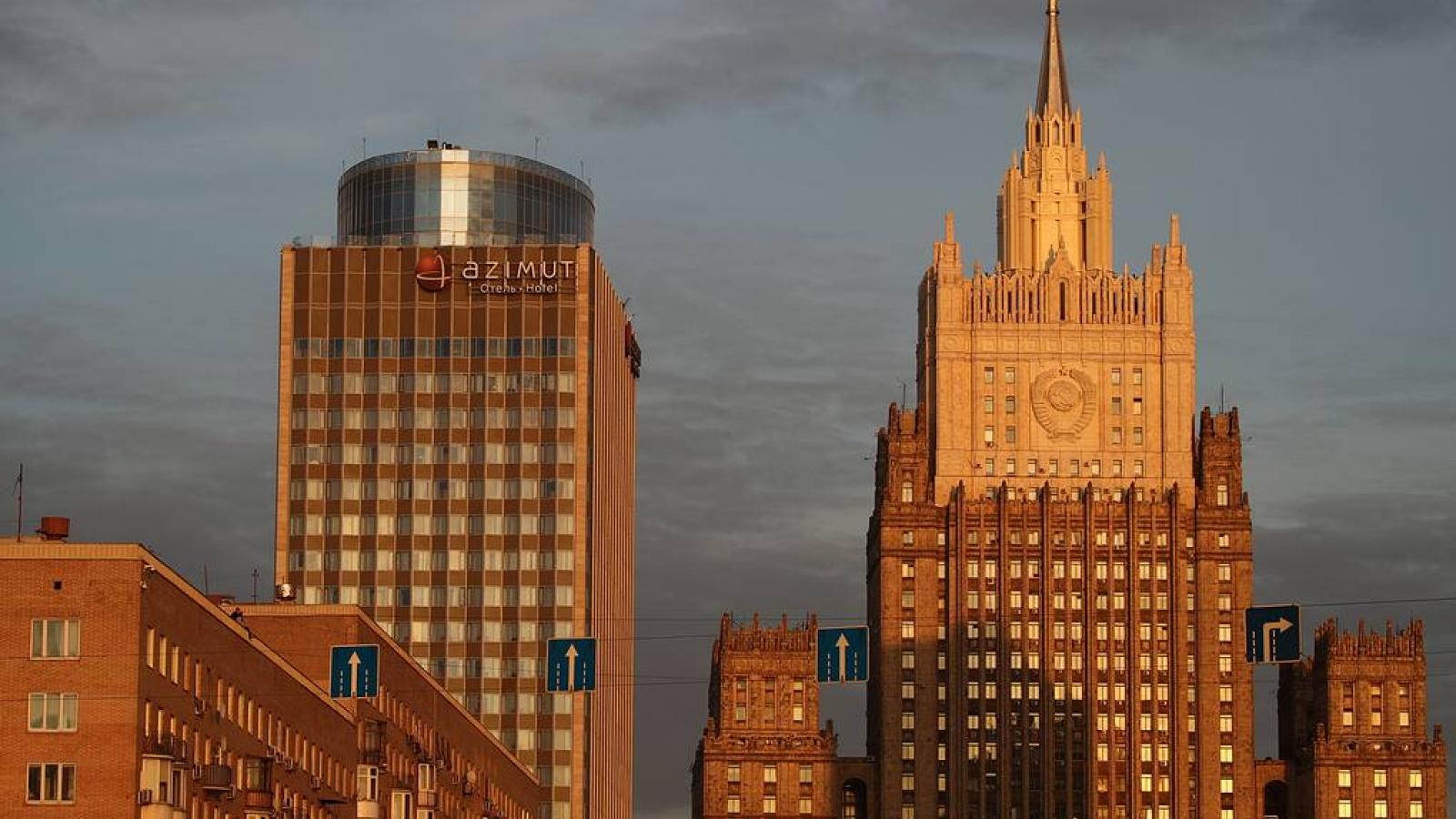 Nga tuyên bố đáp trả việc Estonia từ chối cấp thị thực cho nhà ngoại giao