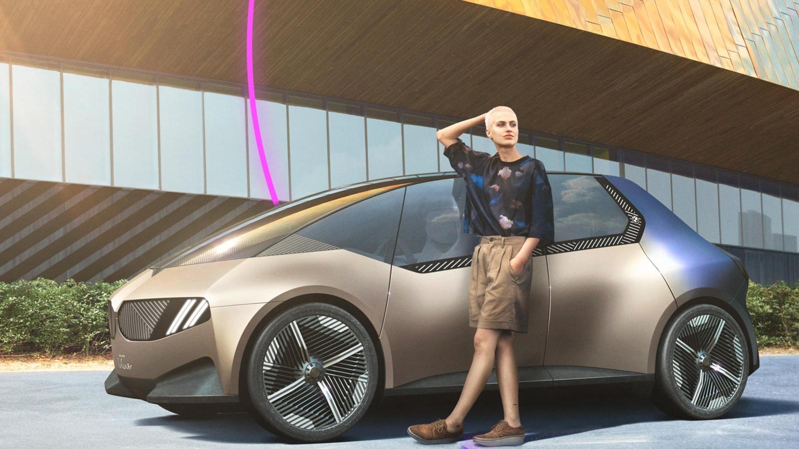 BMW i Vision Circular - chiếc xe đầu tiên sử dụng nguyên liệu có thể tái chế