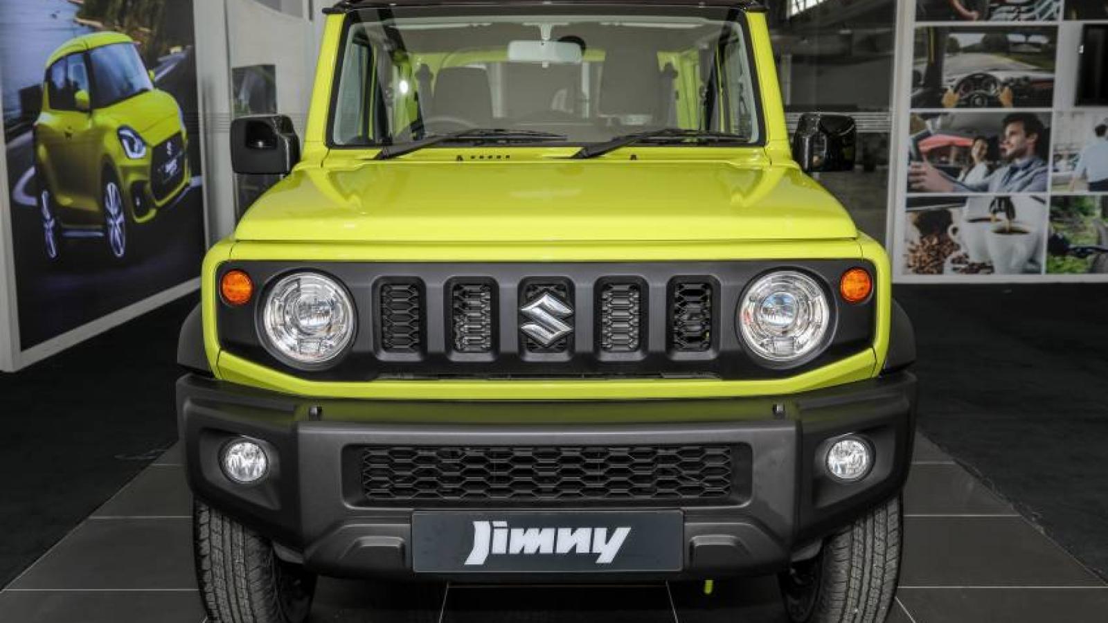 Suzuki Jimny 2021 ra mắt tại Malaysia