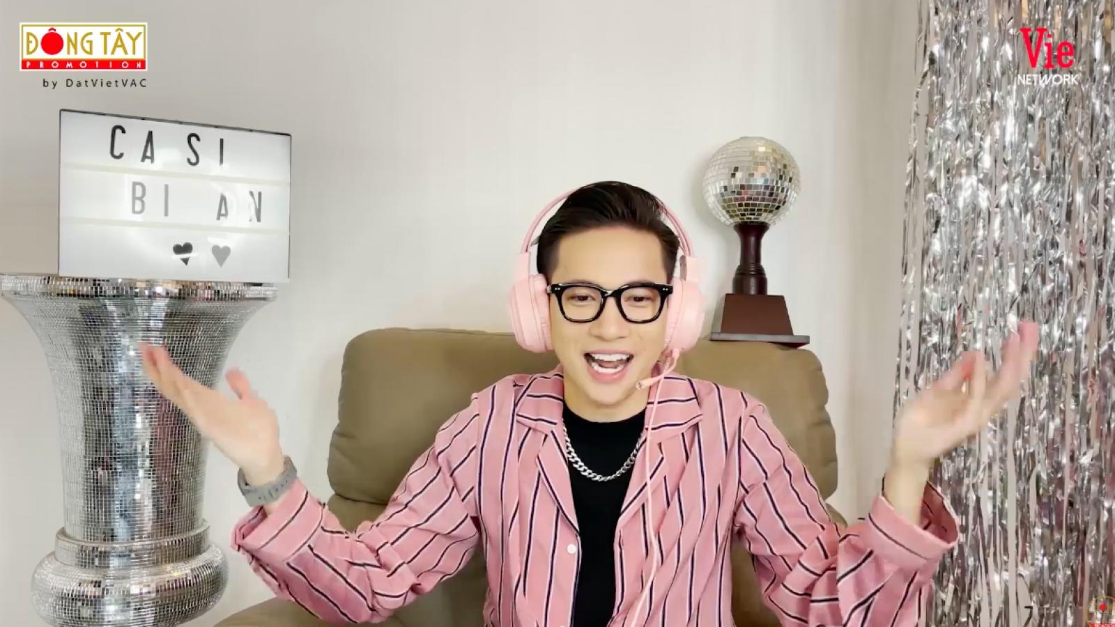 """ST Sơn Thạch diện bộ cánh màu hồng với phong cách DJ mới lạ trong """"Ca sĩ bí ẩn"""""""
