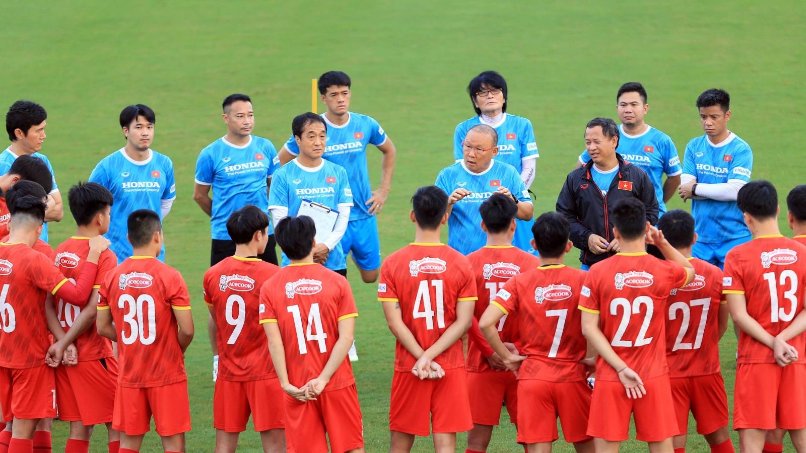 ĐT Việt Nam nhận tin vui trước trận đấu với ĐT Trung Quốc