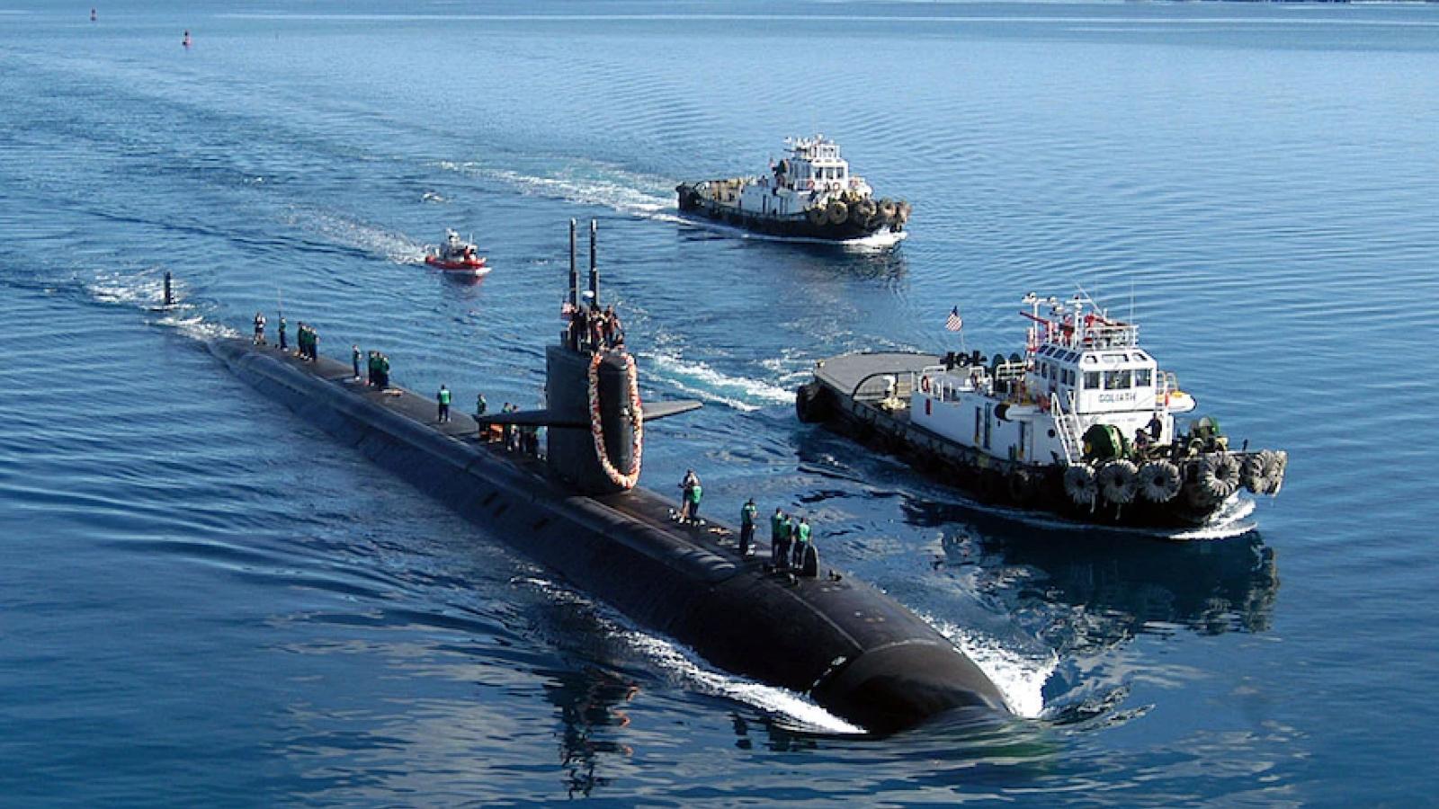 Australia-Anh-Mỹ hợp tác chế tạo tàu ngầm hạt nhân tại Australia