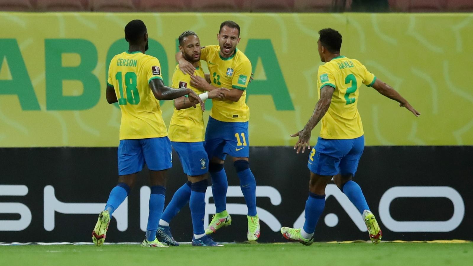 Bảng xếp hạng vòng loại World Cup 2022 khu vực Nam Mỹ: Brazil toàn thắng, tiến gần VCK