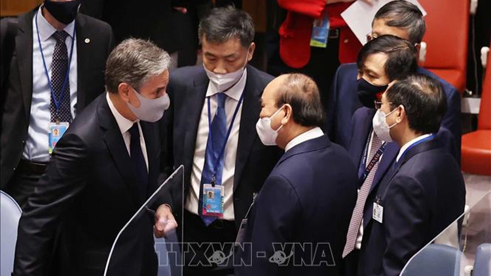 The US is Vietnam's key partner, says President Phuc