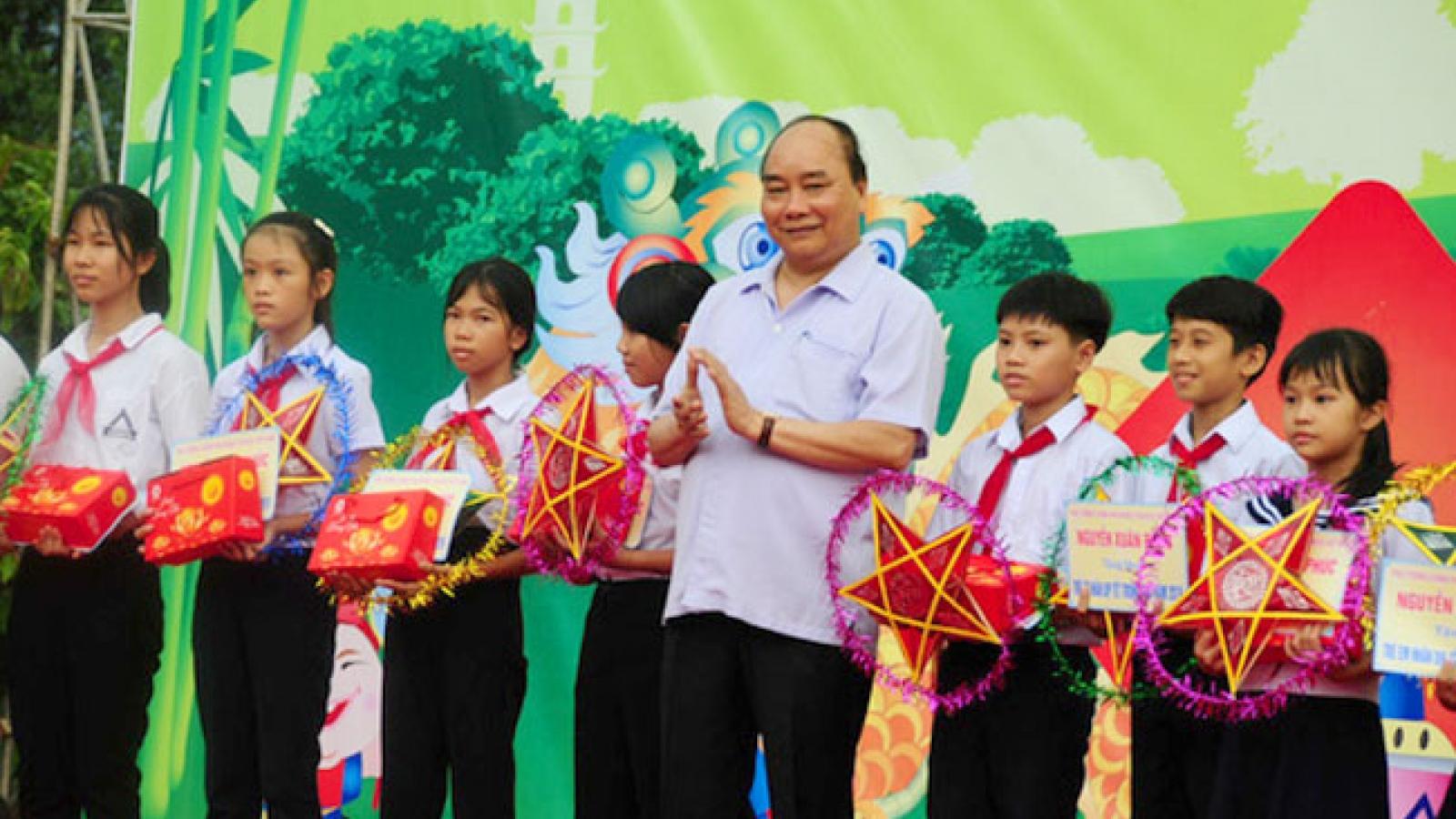 Thư Chủ tịch nước gửi thiếu niên, nhi đồng dịp Tết Trung thu