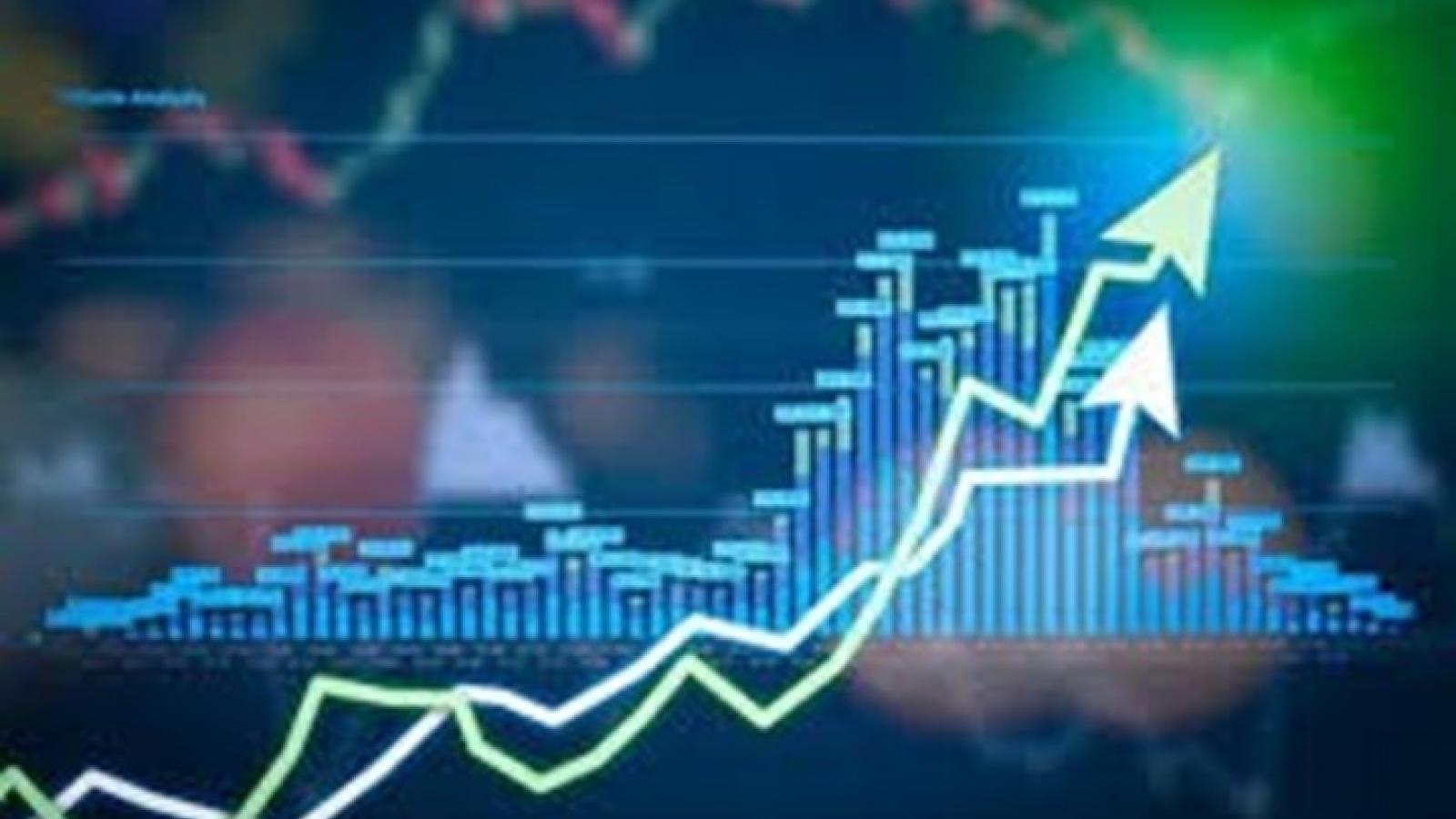 VN-Index kỳ vọng có thể vượt qua vùng kháng cự 1.350 điểm