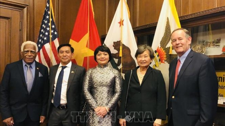 Vietnamese flag hoisted in San Francisco on National Day