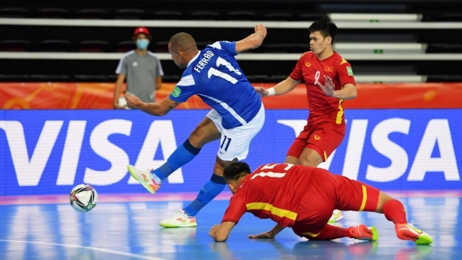Brazil trounce Vietnam 9-1 in FIFA Futsal World Cup 2021 opener