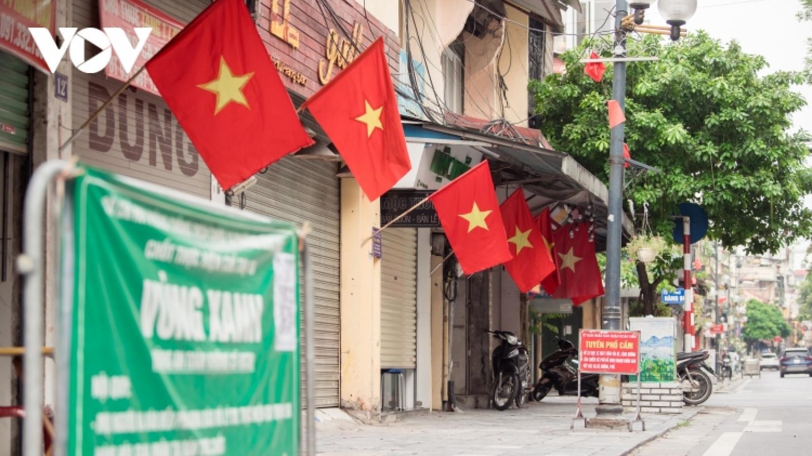 Hanoi left deserted on National Day 2021