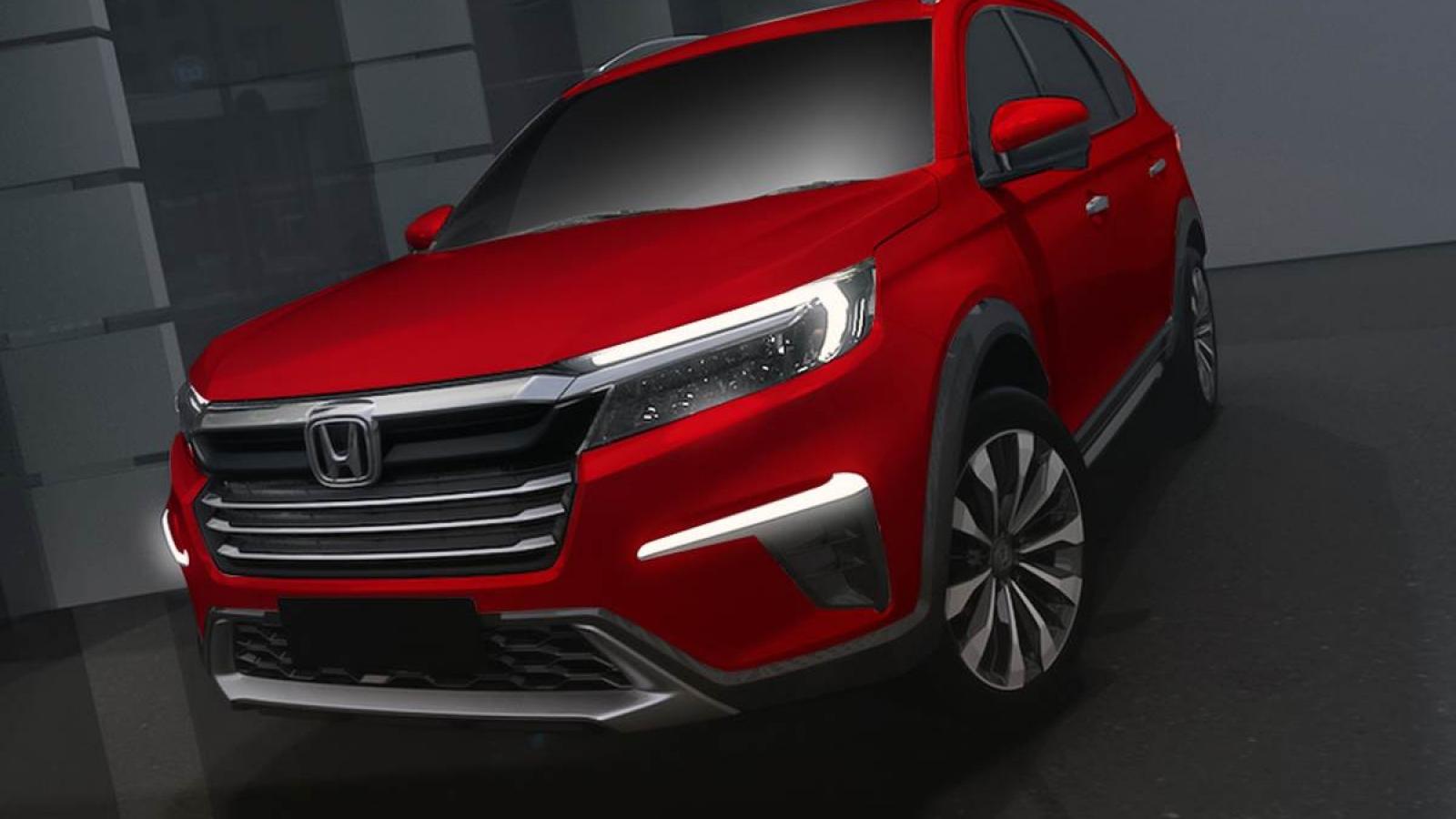 SUV hoàn toàn mới của Honda sắp xuất hiện