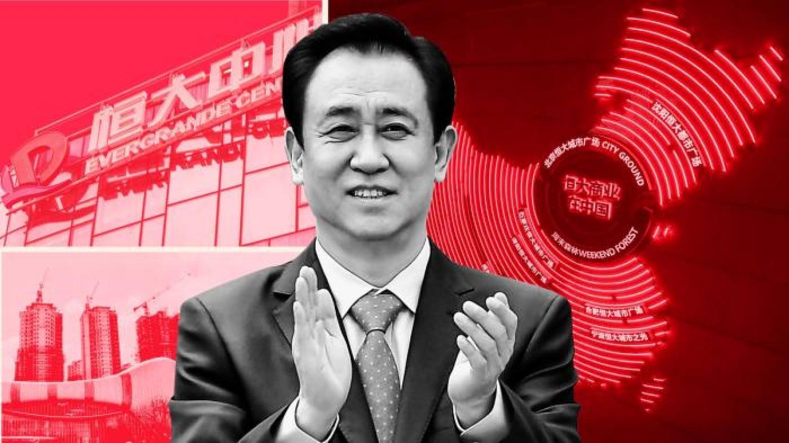 """""""Bom nợ"""" Evergrande - hồi kết của mô hình """"xây dựng, xây dựng, xây dựng"""" của Trung Quốc?"""