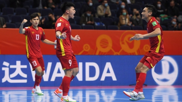 Vietnam lose 2-3 to Russia in FIFA Futsal World Cup knockout stage