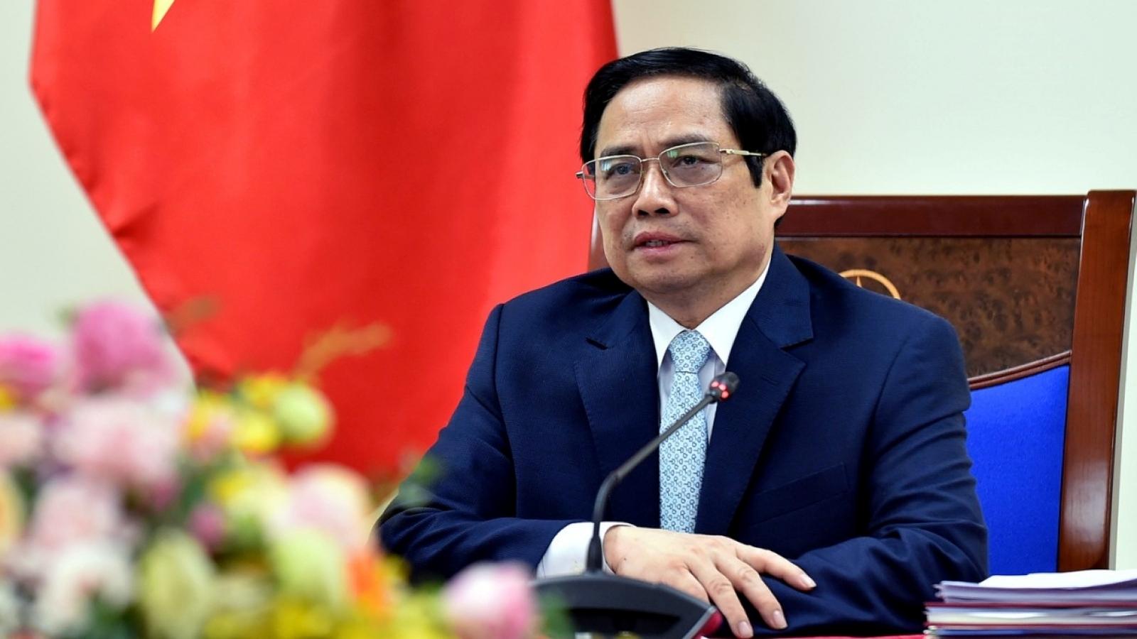 Thủ tướng đề nghị COVAX ưu tiên phân bổ nhanh số lượng vaccine đã cam kết cho Việt Nam
