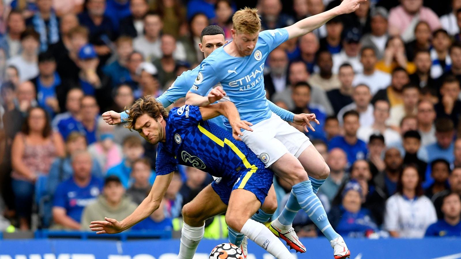 Trực tiếp Chelsea 0-0 Man City: Chờ hiệp 2 bùng nổ