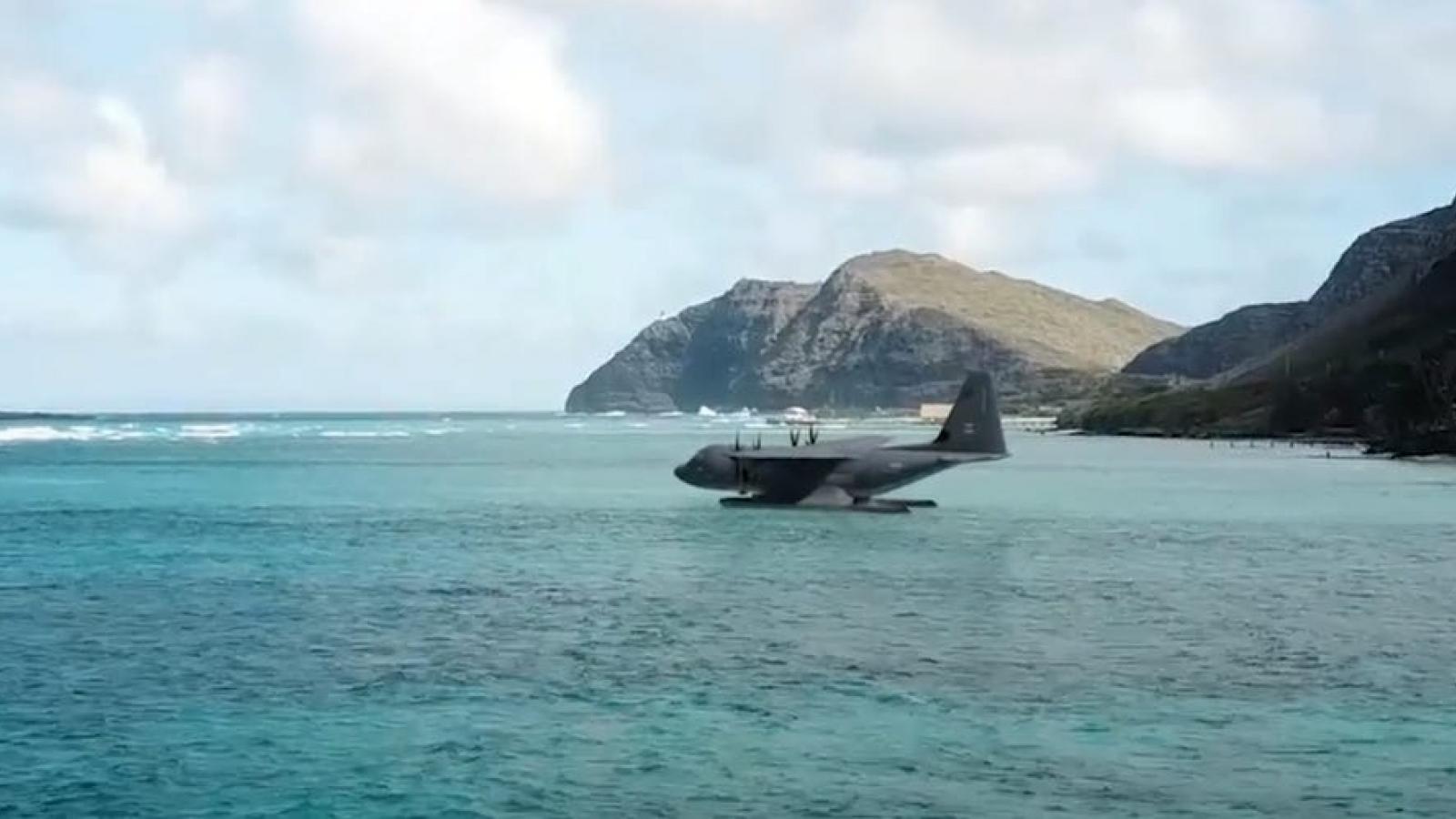 Tính toán của Mỹ khi biến những máy bay vận tải lớn nhất thành thủy phi cơ đổ bộ