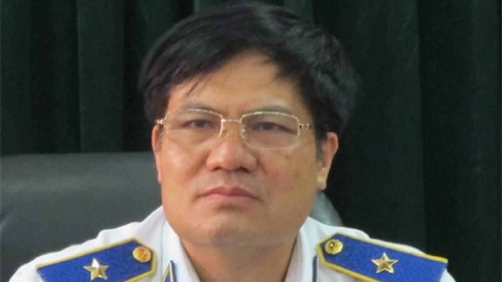 Cảnh cáoTrung tướngNguyễn Quang Đạm, nguyên Tư lệnh Cảnh sát biển Việt Nam