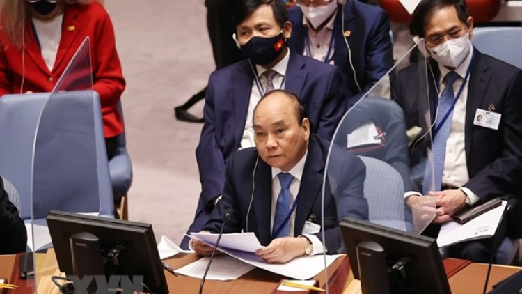 Statement by President Phuc at high-level open debate of UNSC on climate security