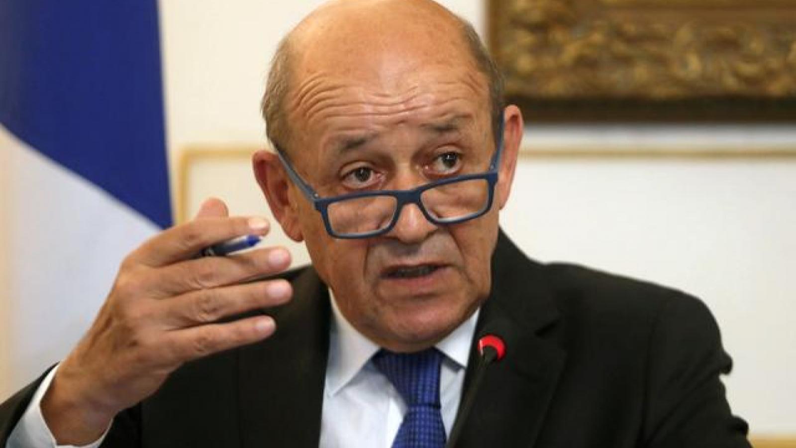 Ngoại trưởng Pháp: Pháp rơi vào khủng hoảng ngoại giao chưa từng có với Mỹ và Australia