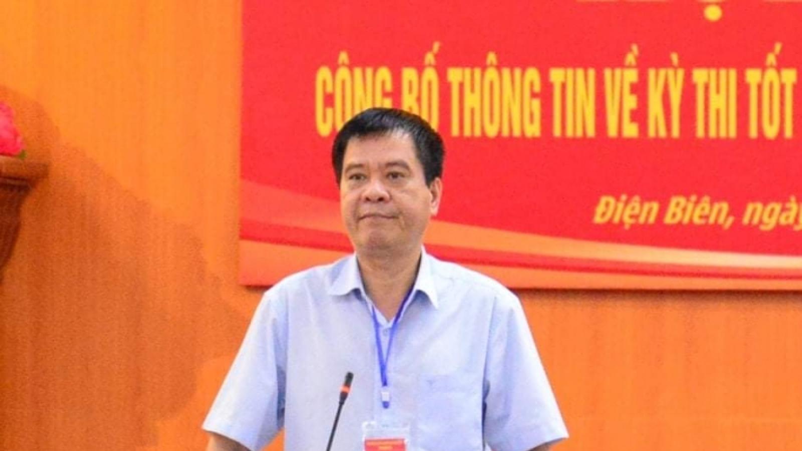 Khởi tố, bắt tạm giam nguyên Giám đốc Sở GD-ĐT tỉnh Điện Biên và 7 đồng phạm