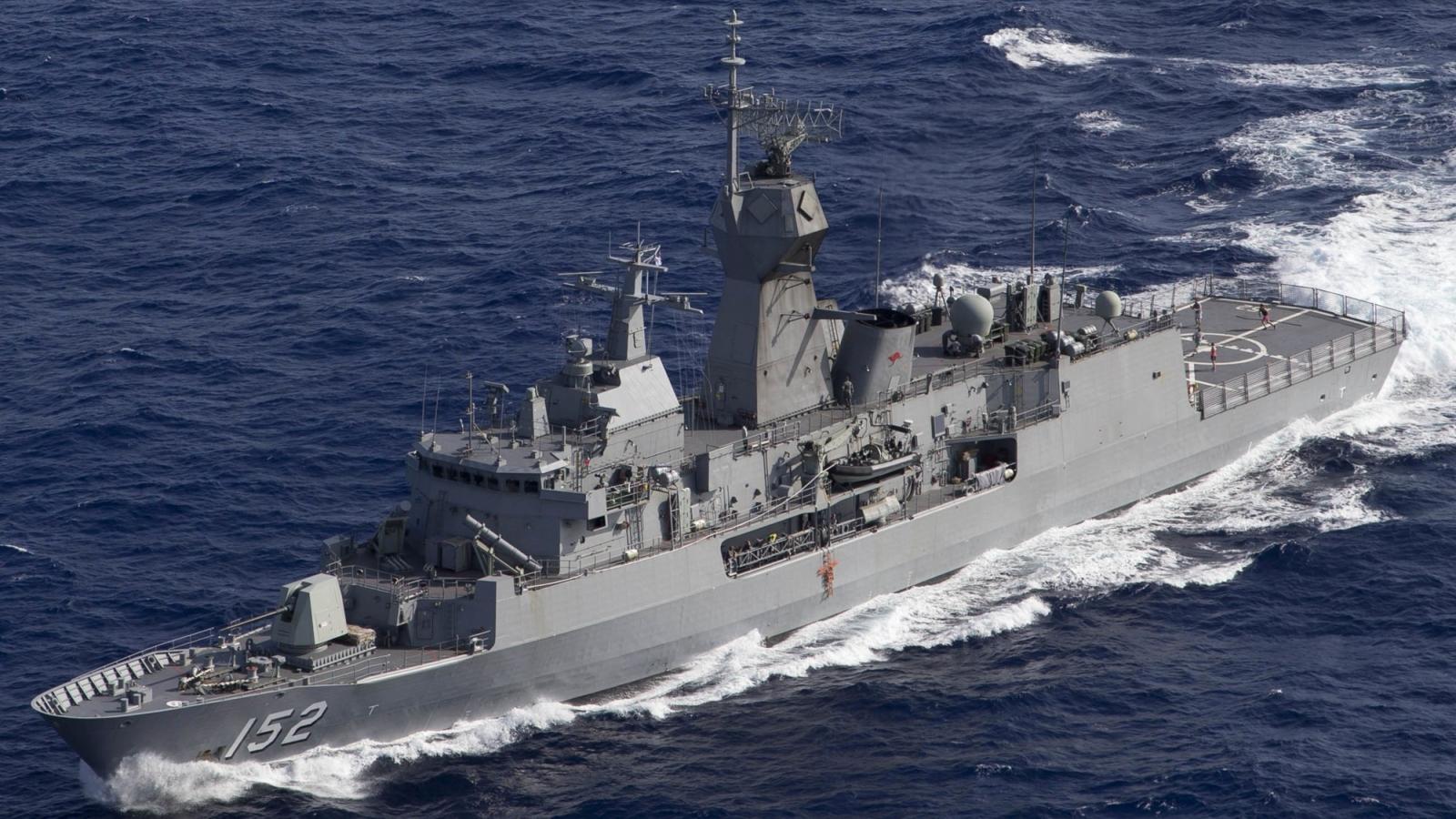 Hải quân Australia và Ấn Độ bắt đầu tập trận Ausindex 2021