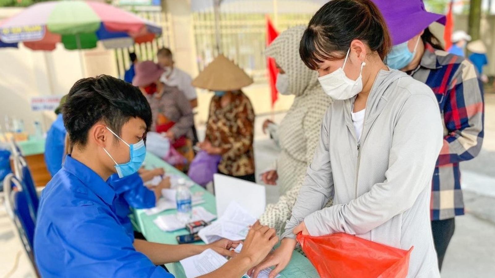 Quảng Ninh tiêm xong mũi 1 vaccine Covid-19 vào 20/9